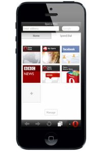Opera Mini Mobile Apple iOS iPhone iPad