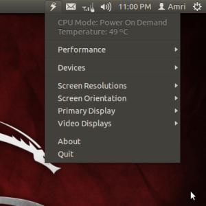 Cara Menghemat Daya Baterai dengan Jupiter di Ubuntu 12.10/12.04 Terbaru