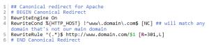 Cara redirect domain, non-www ke www Apache, Lighttpd, Nginx