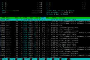Cara Install Htop pada VPS Linux CentOS 32bit & 64bit
