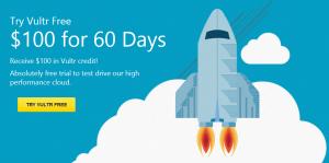 KVM VPS Gratis $100 Credit untuk 60 Hari !