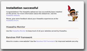Tampilan Web Kloxo-MR Jadi Hiawatha Webserver
