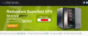 InterServer, Promo VPS dan Web Hosting $0.01 saja!