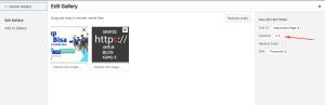 Hapus styling Galeri Gambar Bawaan di WordPress